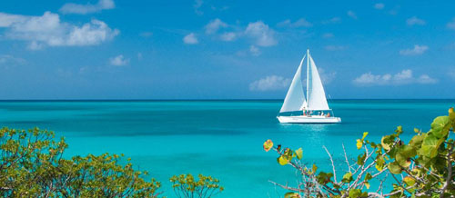 Caribbean Sailing View