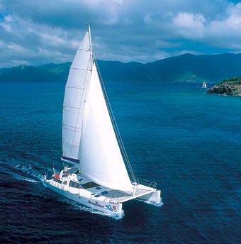 Caribbean Sailing Yacht Catamaran