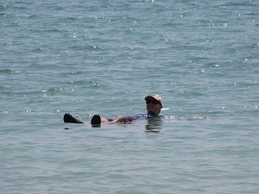 Sailing in Israel Dead Sea
