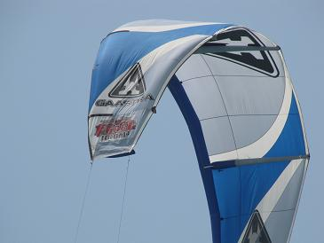 Sailing in Israel Kite