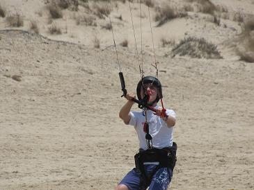 Sailing in Israel Ollie Kitesurfing