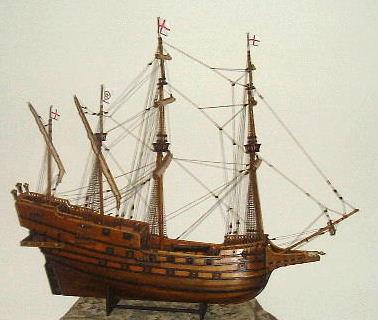 An English Galleon