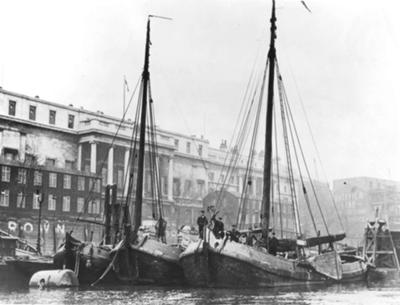 Frisian eeltraders in London