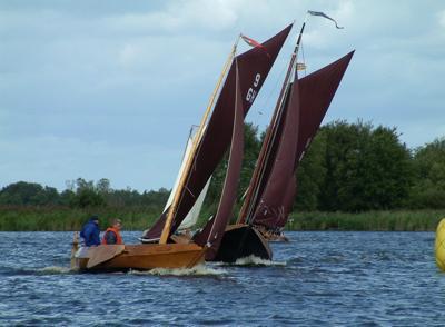 In a winning position in my last boat.