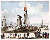 Beach Sailing Vehicle