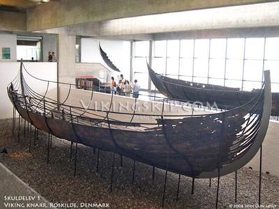 wreck of original knarr