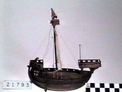 model of a ship of the Cinque Ports