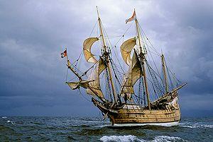 Pinnace/Yacht Duyfken, 1595.