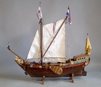Dutch Yaght 17th century.