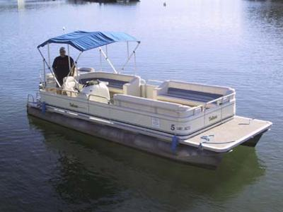 A Pontoon Boat in Action!