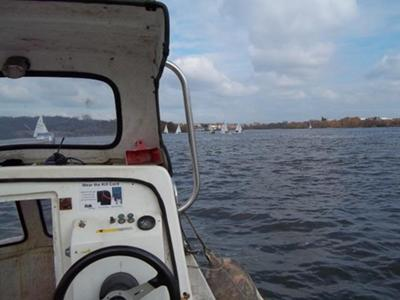 View from Committee Boat